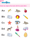 Kindergarten English Circle The Objects