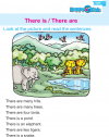 Kindergarten English There is / There are