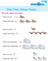 Kindergarten English This / That / These / Those