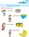 Kindergarten English Listen And Practise