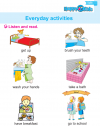 Kindergarten English Everyday Activities