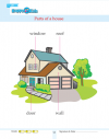 Kindergarten Science Parts Of A House