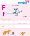 Preschool English Reading and Writing F to J