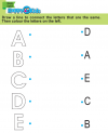 Preschool English Exercise and Activities from A to E