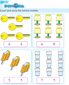 Preschool Number Count and Circle Exercise