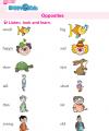 Kindergarten English Opposites
