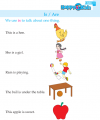 Kindergarten English Is / Are