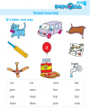 Kindergarten English Vowel Sounds