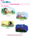 Kindergarten English Time Of The Day