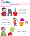 Kindergarten English Have And Has