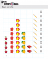 Kindergarten Maths Count And Write