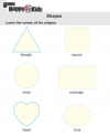 Kindergarten Maths Shapes