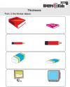 Kindergarten Maths Thickness