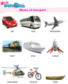Kindergarten Science Means Of Transport