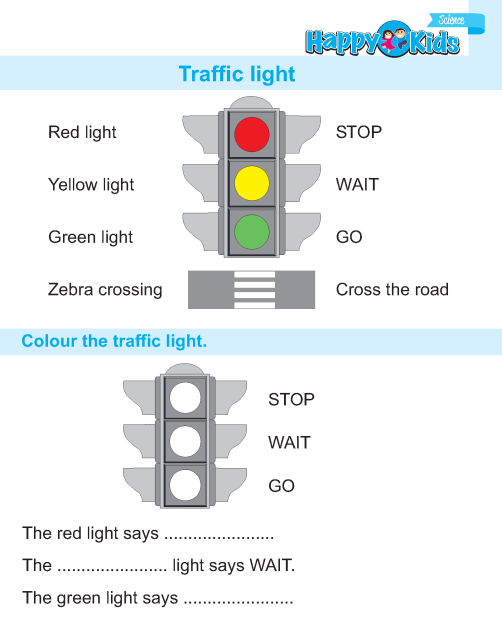 Kindergarten Science Traffic Light Preschool And. Ukg Science Bookpage87. Kindergarten. Worksheets On Science For Kindergarten At Mspartners.co