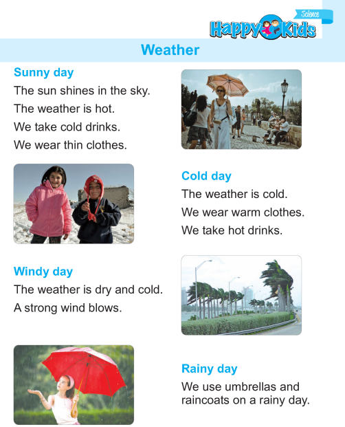 Kindergarten Science Weather