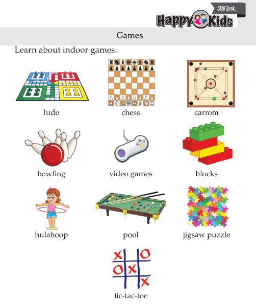 Kindergarten Skill Games