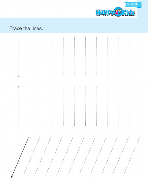Preschool Skill Trace and Learn