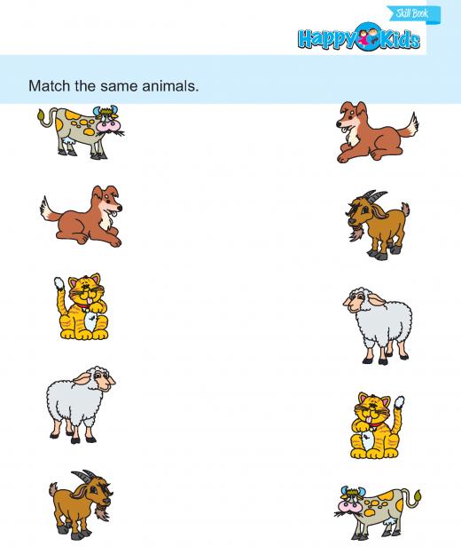 Preschool Skill Match and Learn