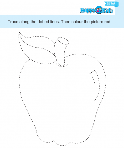 prewriting  (31) tracing and colouring 1