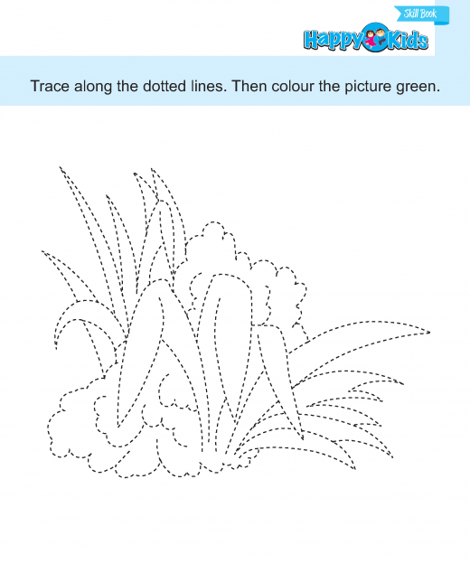 prewriting  (33) tracing and colouring 3