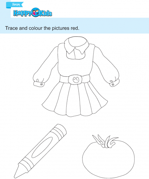 prewriting  (38) tracing and colouring 8