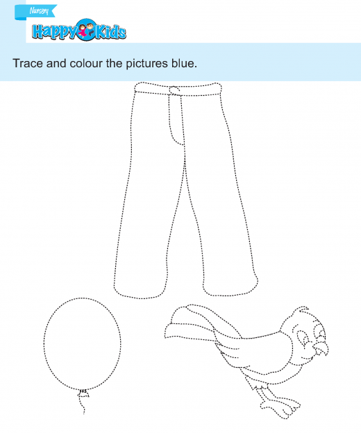 prewriting  (40) tracing and colouring 10